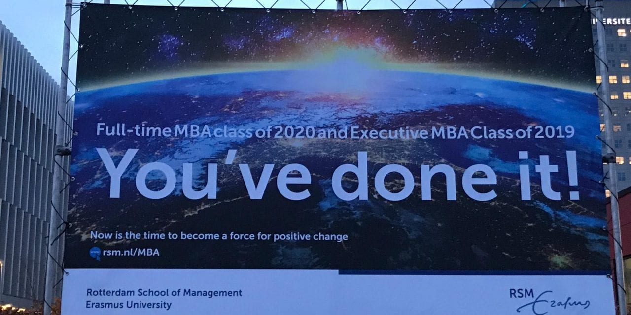 TNXTO News: Executive MBA at Rotterdam School of Management